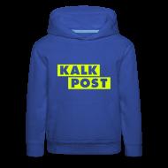 Pullover & Hoodies ~ Kinder Premium Kapuzenpullover ~ Flexdruck neongelb Kalk Post Balken