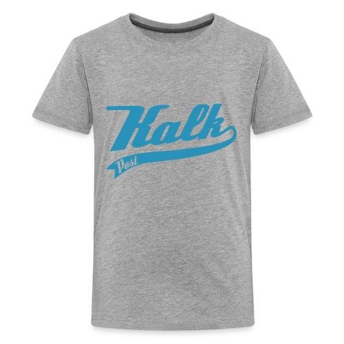 Flockdruck hellblau Classic - Teenager Premium T-Shirt