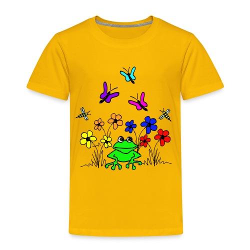 blumenfrosch kids - Kinder Premium T-Shirt