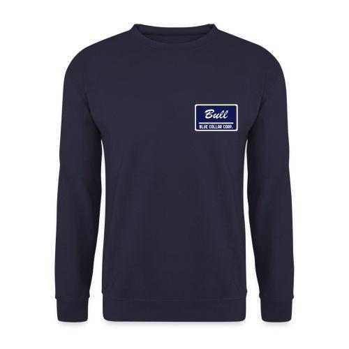 Blue Collar Corp.: Bull (male) foliert - Männer Pullover