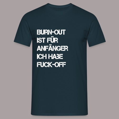 Herrenshirt Burnout - Männer T-Shirt