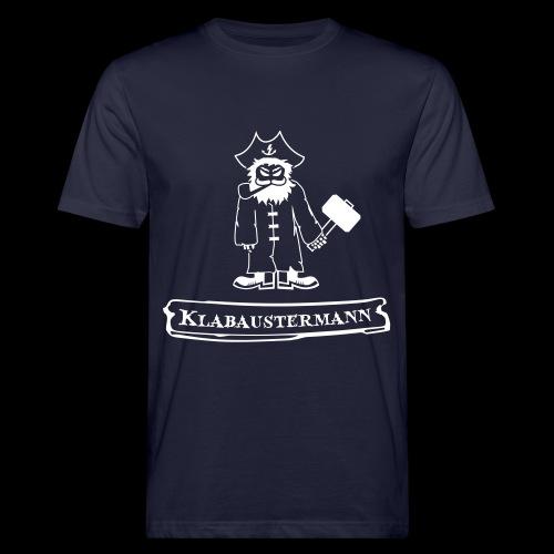 Shirt Klabaustermann - Männer Bio-T-Shirt