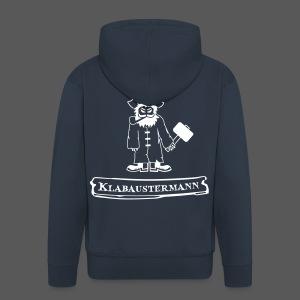 Hoodie Klabaustermann - Männer Premium Kapuzenjacke