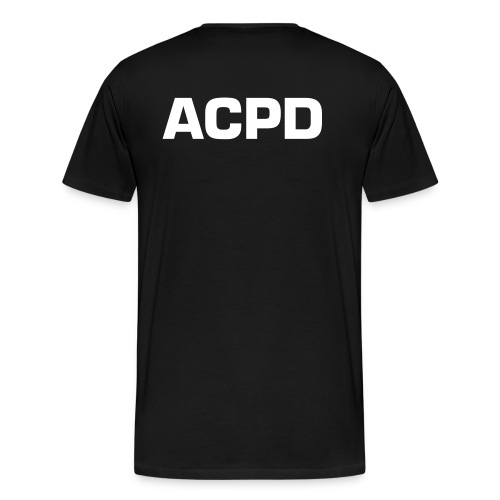 ALGERCITY POLICEDEPARTEMENT - T-shirt Premium Homme