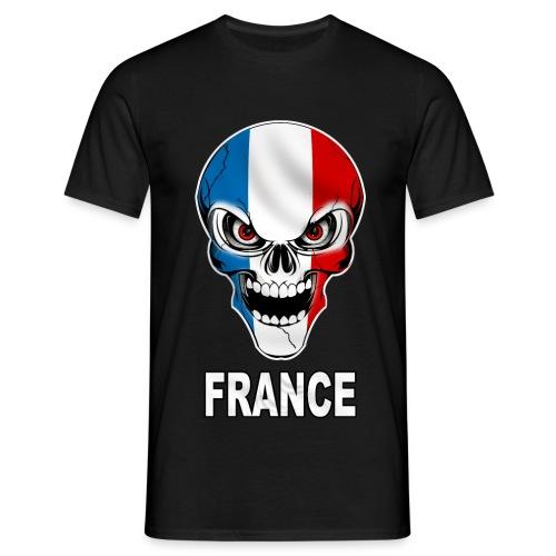 France Patria | Crâne - T-shirt Homme