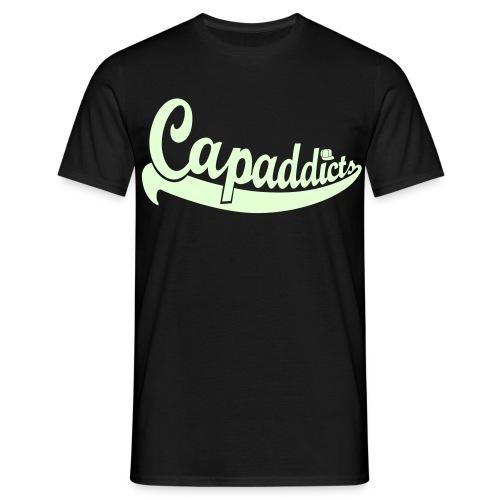 Capaddicts - Glow in the Dark - Männer T-Shirt