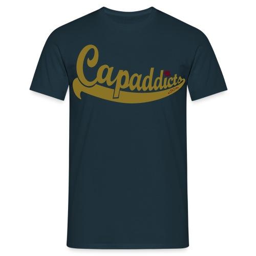 Capaddicts x Justfitteds - Match - Männer T-Shirt