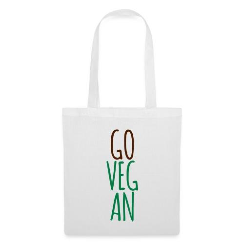 Go Vegan - Stoffbeutel
