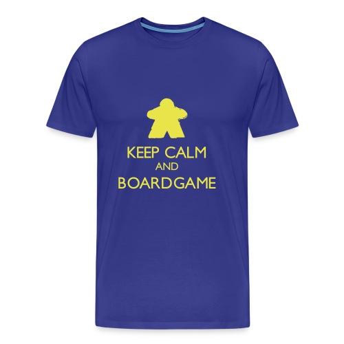 Keep Calm and Boardgame - Men's Premium T-Shirt