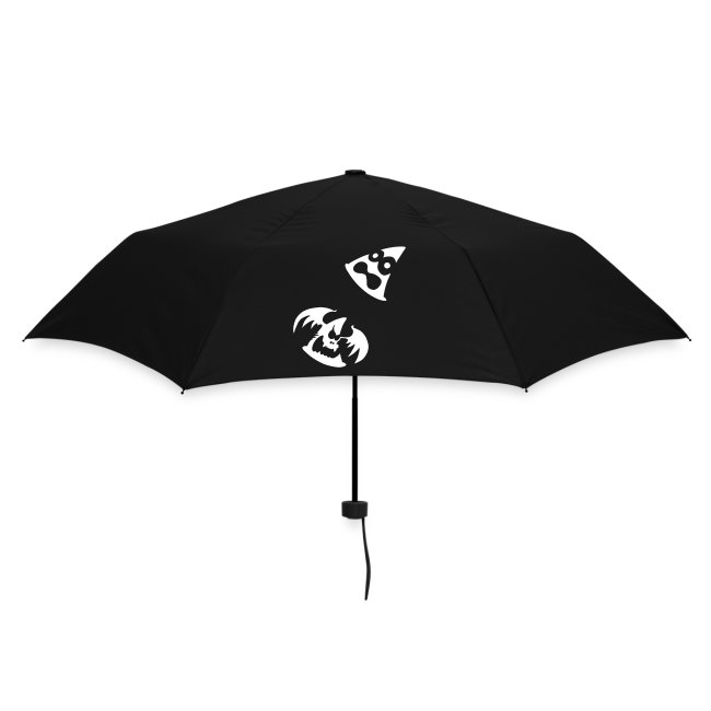 Paraguas plegable fantasmitas