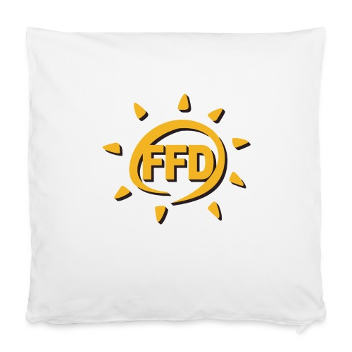 FFD Kopfkissenbezug - Kissenbezug 40 x 40 cm