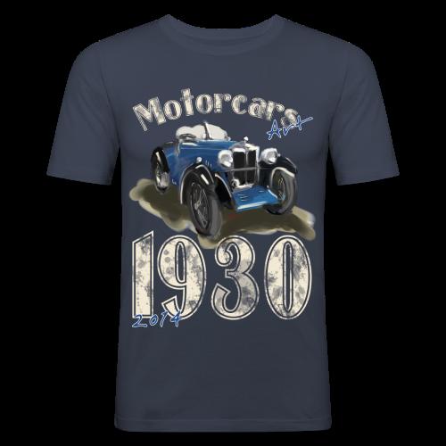 1930 Motorcars -für dunkle Shirts - Männer Slim Fit T-Shirt
