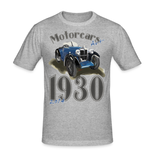 Motorcars Art 1930/2014 - Männer Slim Fit T-Shirt