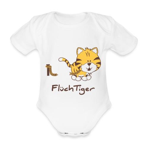 FlüchTiger Babybody - Baby Bio-Kurzarm-Body