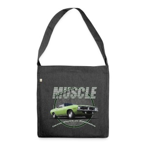 Shoulderbag made from recycled material Plymouth Muscle Barracuda | Classic American Automotive  - Shoulder Bag made from recycled material