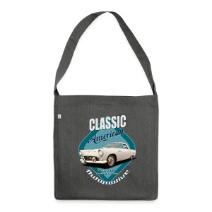 Shoulderbag made from recycled material Ford Thunderbird | Classic American Automotive - Shoulder Bag made from recycled material