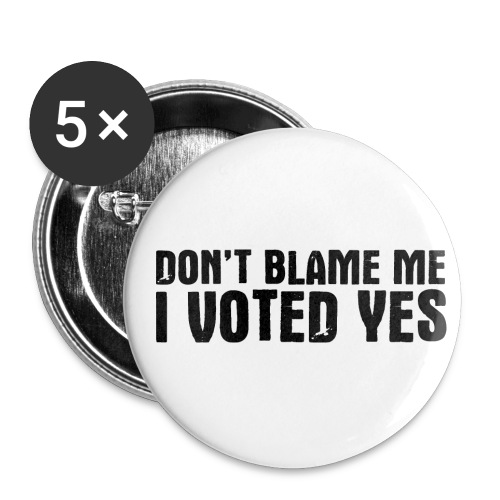 Don't Blame Me - Buttons medium 1.26/32 mm (5-pack)