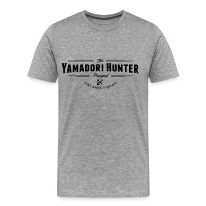 T-Shirt homme THE Yamadori Hunter VINTAGE LOGO (Black) - T-shirt Premium Homme