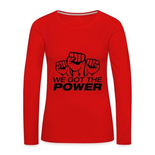 Trui - Women's Premium Longsleeve Shirt