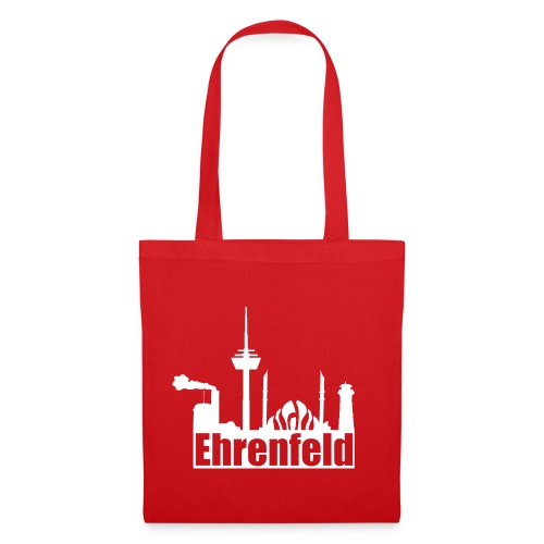 Ehrenfeld-Beutel in rot - Stoffbeutel