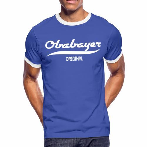 Oberbayer - Männer Kontrast-T-Shirt