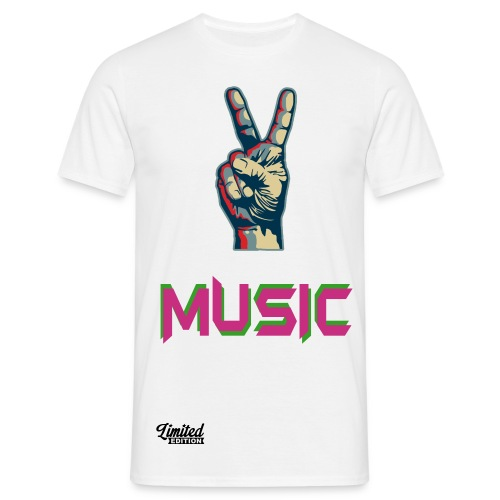 T-shirt Music limited edition - T-shirt Homme