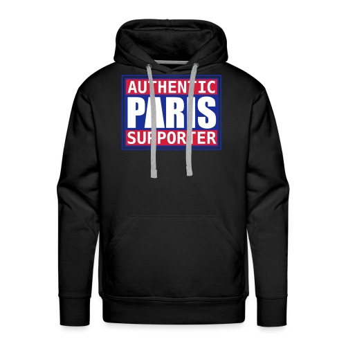Sweat Authentic Paris - Sweat-shirt à capuche Premium pour hommes