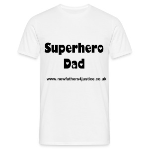 Superhero Dad T Shirt - Men's T-Shirt