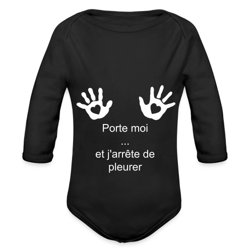 Just take me ! - Body bébé bio manches longues