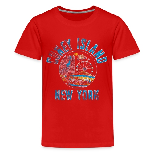 Coney Island Vintage - Ado - T-shirt Premium Ado