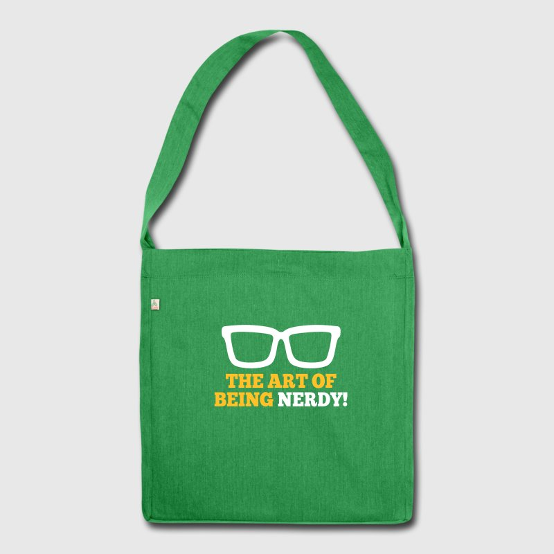 Nerd Bags & Backpacks - Shoulder Bag made from recycled material