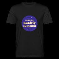 T-Shirts ~ Männer Bio-T-Shirt ~ Ich bin ein Handelshemmnis (unisex)