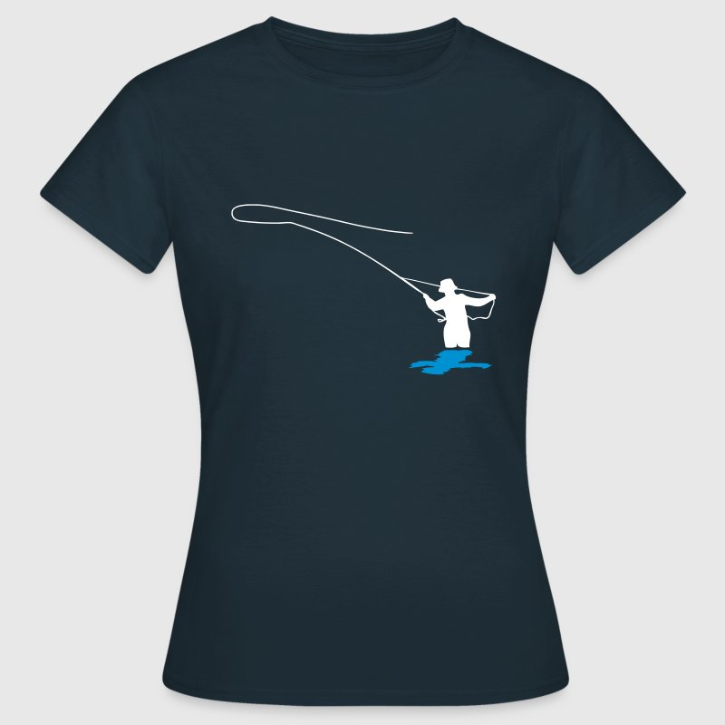 angler fliegenfischen t shirt spreadshirt. Black Bedroom Furniture Sets. Home Design Ideas