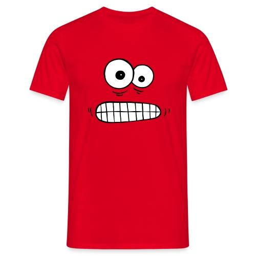 T-Shirt besorgte Augen - Männer T-Shirt
