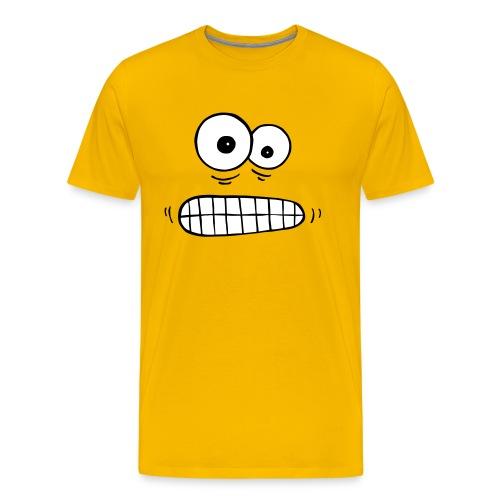 T-Shirt besorgte Augen - Männer Premium T-Shirt