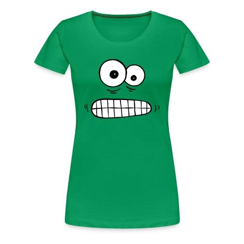 T-Shirt besorgte Augen - Frauen Premium T-Shirt