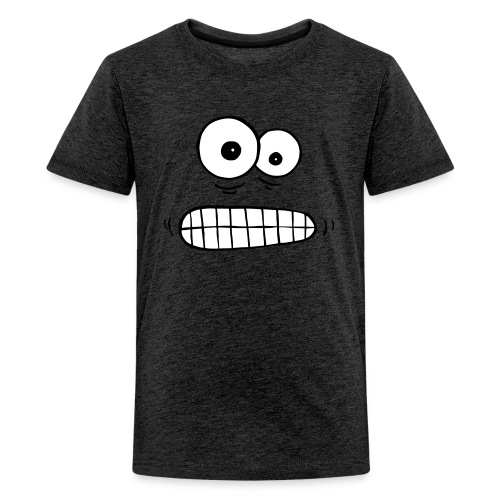 T-Sbirt besorgte Augen - Teenager Premium T-Shirt