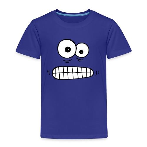 T-Shirt besorgte Augen - Kinder Premium T-Shirt