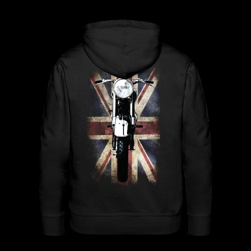 British-Retro-Racer (Hoodie) - Men's Premium Hoodie