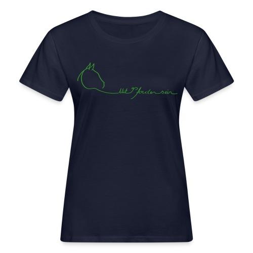 MPS Logoschriftzug - Bio Shirt Women (Print: Green - Digital) - Frauen Bio-T-Shirt