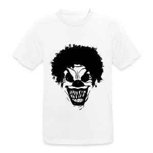 Men's Breathable T-Shirt - clown,evil,goth,grunge,horror,mens,new,scary,tshirt
