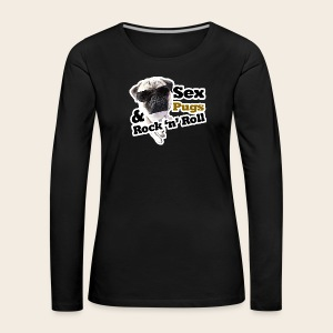 Sex Pugs RocknRoll Langarmshirt - Frauen Premium Langarmshirt