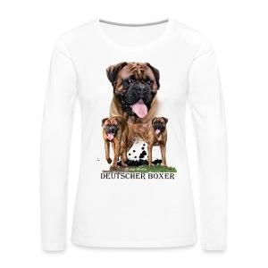 Old Ladys Photodesign - Frauen Premium Langarmshirt