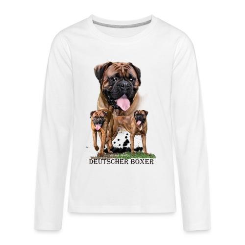 Old Ladys Photodesign - Teenager Premium Langarmshirt