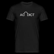 T-Shirts ~ Men's T-Shirt ~ Addict shirt Black