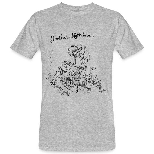 Maritime Nyttehaver t-shirt - unisex