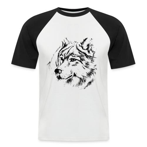 Loupiot - T-shirt baseball manches courtes Homme
