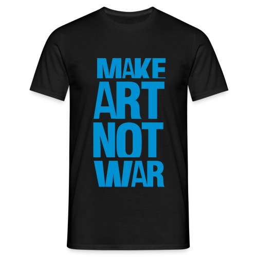 MAKE-ART-NOT-WAR - Maglietta da uomo
