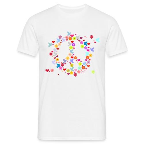 PEACE - Maglietta da uomo