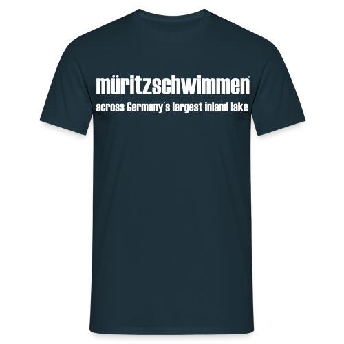 Müritz-Schwimmen No.1 - Männer T-Shirt